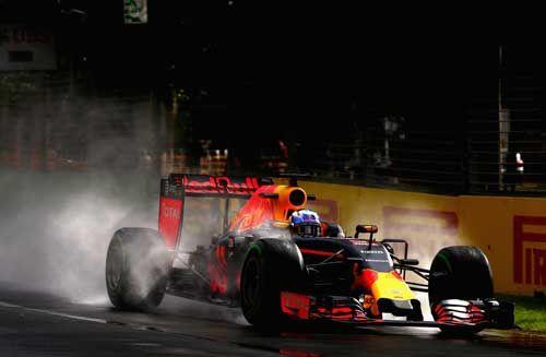 Daniel Ricciardo / Red Bull Racing during practice ahead of the Australian Formula One Grand Prix at Albert Park