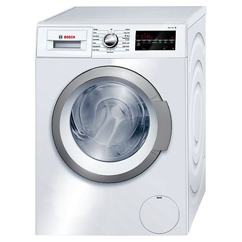 Buy Bosch Avantixx WAT28460GB Freestanding Washing Machine, 8kg Load, A+++ Energy Rating, 1400rpm Spin, White Online at johnlewis.com
