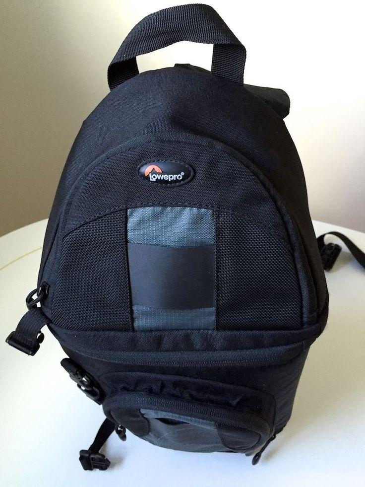 Lowepro Camera Bag - Black - Backpack - DLSR - Cross Body Strap - Travel #Lowepro