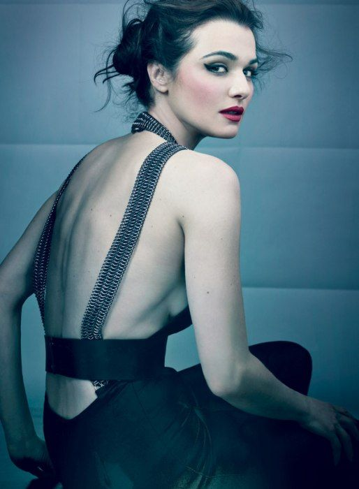 September 2012 Spotlight: The Bourne Legacy's Rachel Weisz-  Love RED lips!