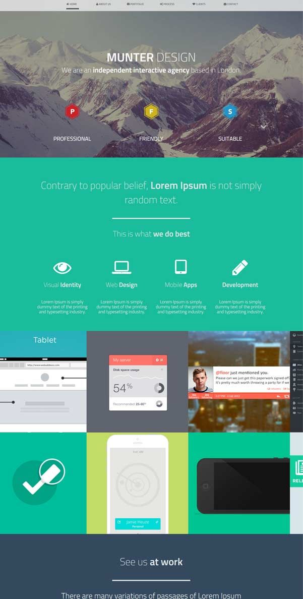 32 best Bootstrap Website Templates Free Download images on ...
