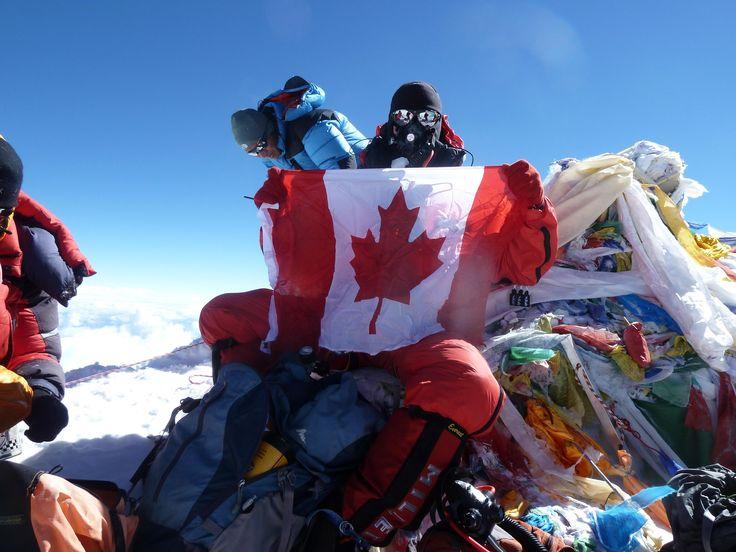 Mount Everest Summit Flag | End point .......Everest ...