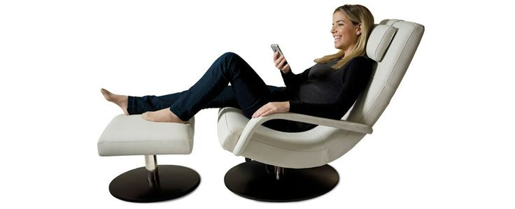 King Furniture - Astro Chair in leather recliner or fixed with or w'out arms