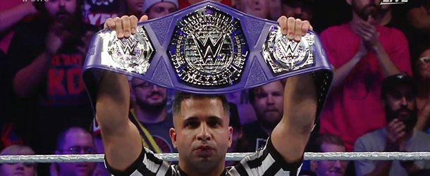 TJ Perkins defeated Mascara Dorada in tonight's Crusierweight Classic Tournament…