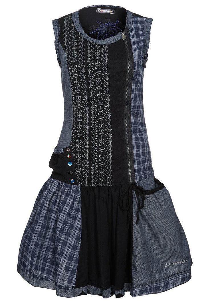 Desigual - RUSTIC - Sukienka z dżerseju - czarny