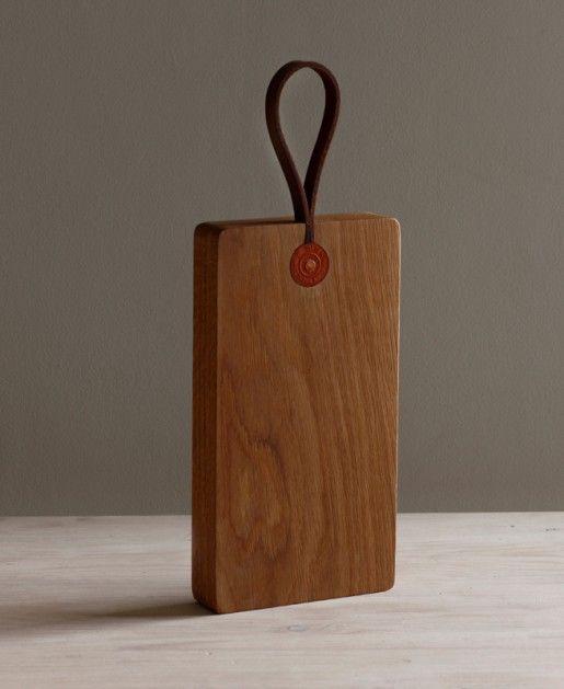 white oak rectangular cutting board