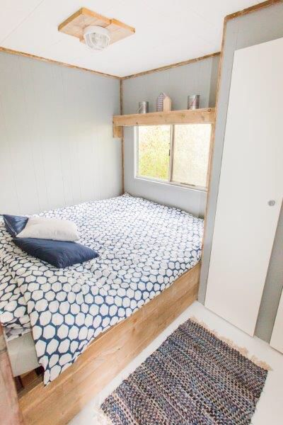 Slaapkamer ocean lodge #stoerbuiten