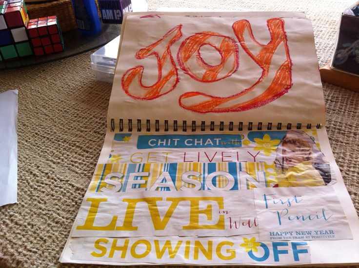 Joy within the pieces of a Summer read from a page of my 2015 Creative Journal. Apikara McQuillan