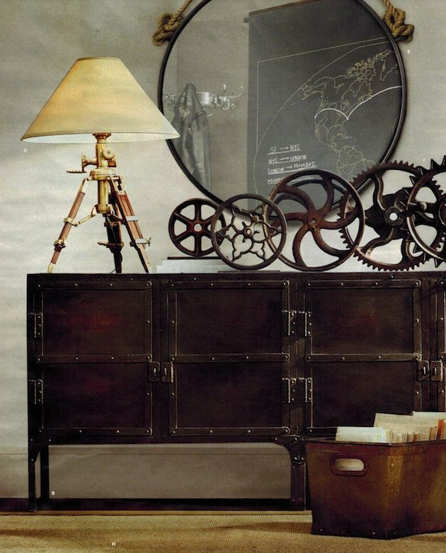 * T h e * V i s u a l * V a m p *: What Do You Think Of Steampunk Decor?