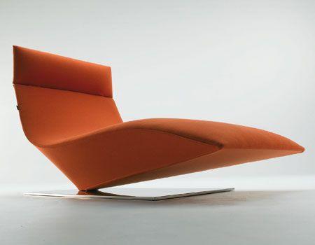 Modern Chaise Lounge MDF Italia