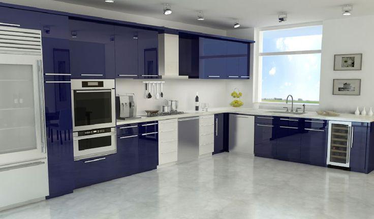 En Yeni Modern L Mutfak Modelleri 2016
