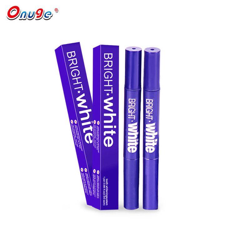 Onuge 5PCS Teeth Whitening Gel Pen Cleaning Bleaching Tooth Pen+1 Toothbrush #Onuge