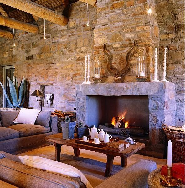 Rustic Living Decor & Design