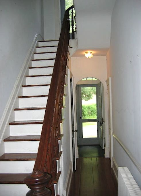 Before and After: A Brighter Future for This Dim Stairwell. Victorian HouseVictorian  Home ...