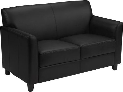 Simple Flash Furniture HERCULES Diplomat Series Black Leather Loveseat Review iew Minimalist - Simple Elegant best reclining sofa reviews Top Search