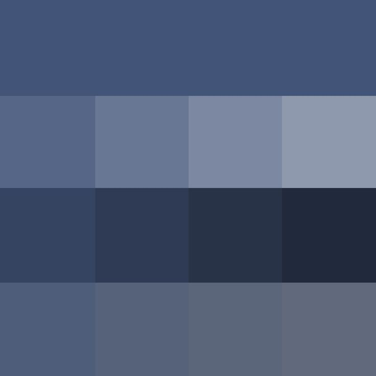 Thd Pantone True Navy Hue Pure Color With Tints