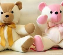 20 Free Patterns to Sew Your Own Teddy Bears: HowJoyful Bear: Tutorial and…