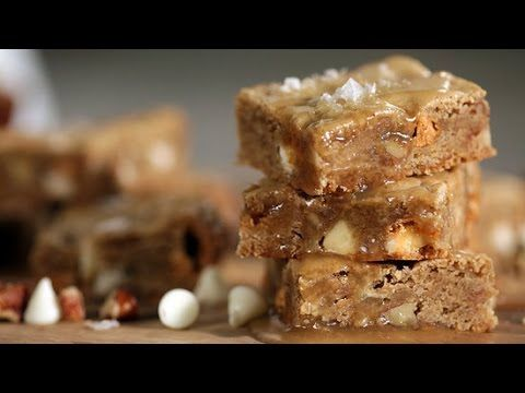 Take one bite of this salted maple butterscotch blondies recipe, and you'll likely go blond the next time a craving for a chewy bar cookie hits. Butter-rich ...