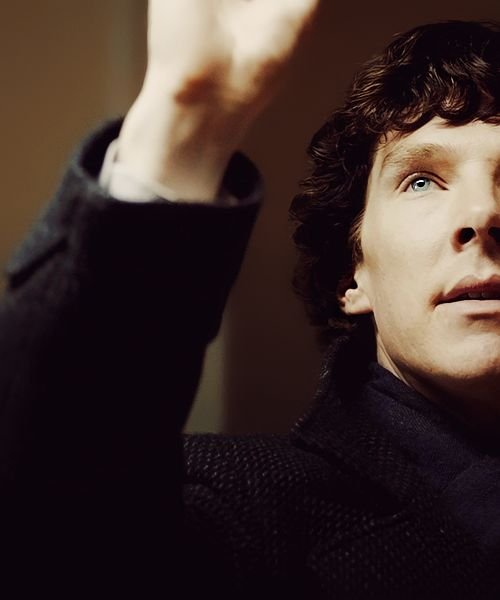 #Sherlock  You'd do anything. Anything at all, to stop being bored.