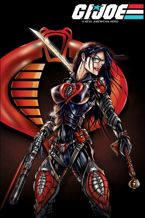 GI JOE Baroness cobra  by *jamietyndall