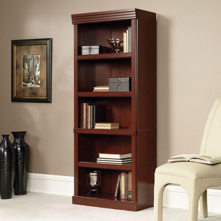 Sauder Woodworking Heritage Hill Bookshelf, Brown