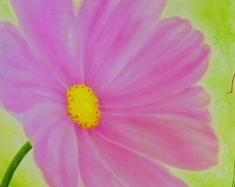 Pintura de acrílico pintura acrílica pintura arte de por AtelierVE