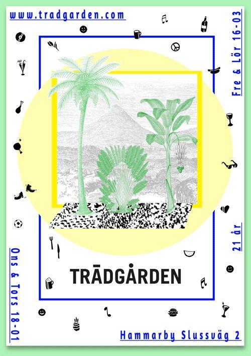 Trädgården by Johanna Burai, via Behance