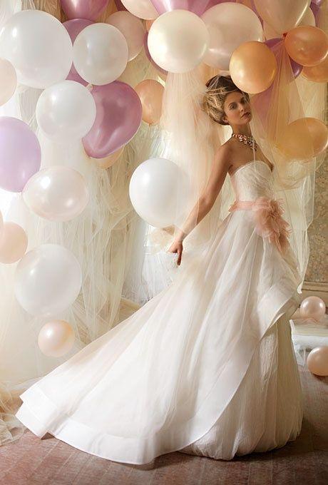 balloons Wedding Decor #wedding #love #balloons