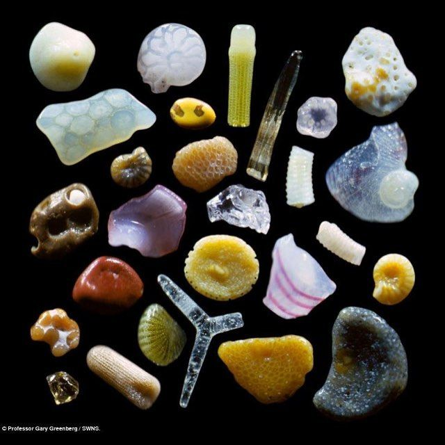 Microscopic sand