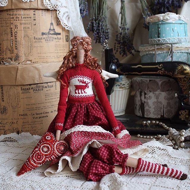 Angel No.6 ищет дом #вязание #вышивка #рукоделие #тильда #handmade #doll #knitting #annysdolls  via ✨ @padgram ✨(http://dl.padgram.com)