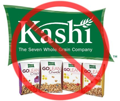 Exposing Kashi Cereal For The Poison That It Is...It is owned by Kellogg's and is filled with GMOs and pesticides and poisonous chemicals.