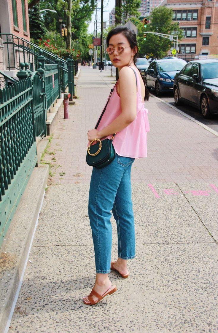 Pink & Denim Summer Casual Style Lookbook   Fashion