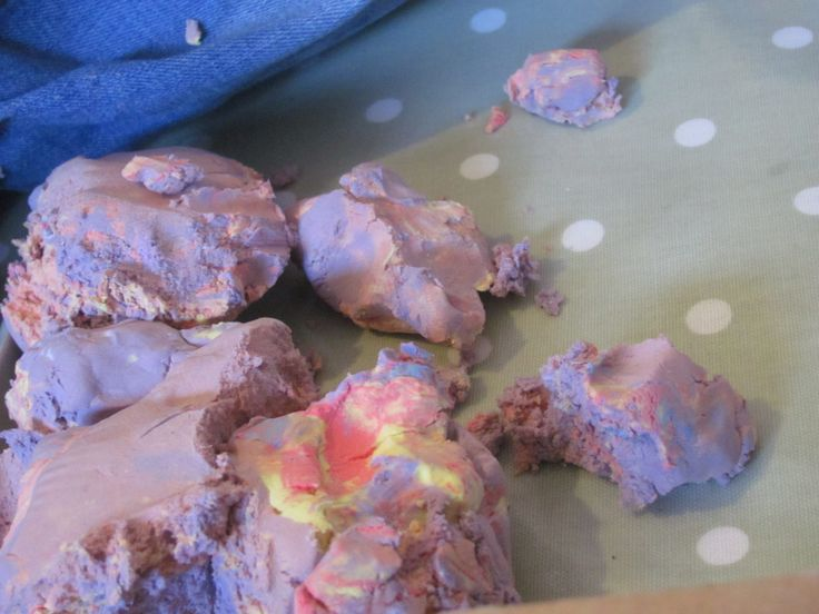 Messy Play with Moon Dough