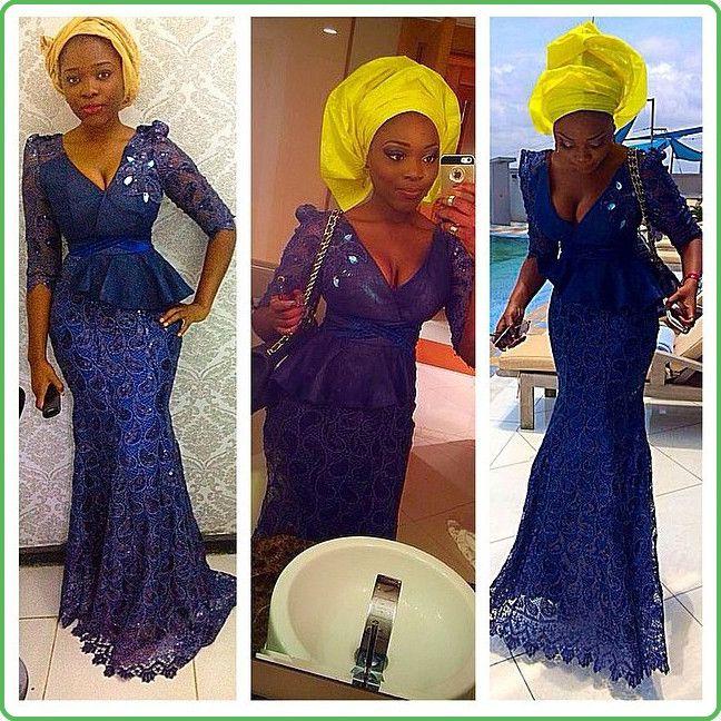 brown asoebi asoebibella wedding nigerianwedding bellanaijaweddings