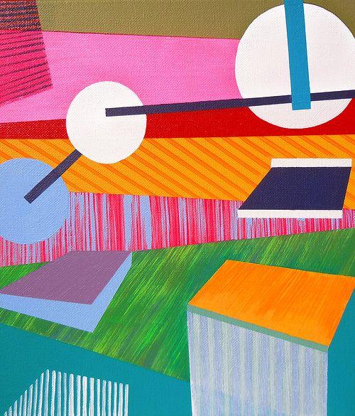 Original acrylic painting by Lucie Jirku, 30x30cm www.studiocodeco.cz