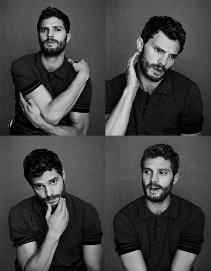 Actor Jamie Dornan photographed by Jeff Hahn, for the February 2015 cover story of Elle UK.