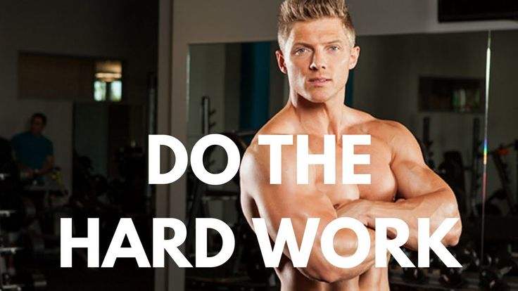awesome Do The Hard Work | Steve Cook Motivation