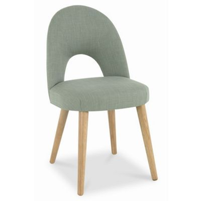 Debenhams American Oak Veneer Pair Of Green Saturn Upholstered Chairs At ChairsDebenhamsFurniture IdeasDining Room