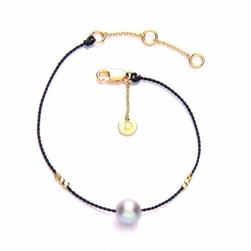 Daisy Jewellery Pearl Good Karma Bracelet