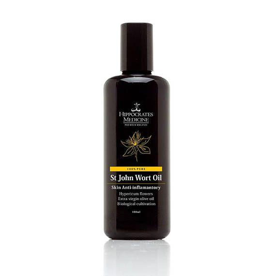 Organic St John wort oil