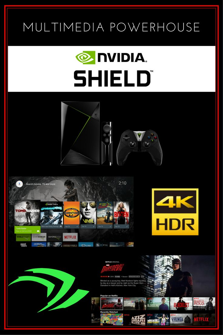 Nvidia Shield TV   |   Unleash the world's most advanced streamer to experience movies and TV shows in fantastic 4K HDR, listen to your favorite songs, and control your entertainment and smart home with just your voice. The perfect fit for streamers with a Google-connected lifestyle. [APPS: Kodi, Plex, Netflix, Youtube, STBemu, Amazon Prime Video]