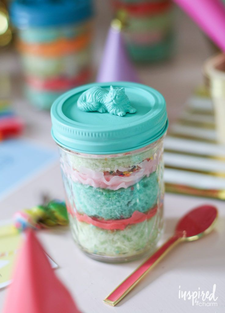Images Of Mason Jar Cakes