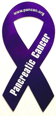 I support the fight against Pancreatic cancer.