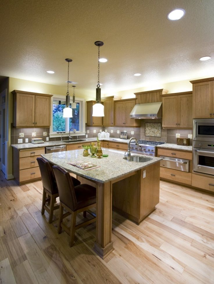 Pictures Of Kitchen Islands With Posts