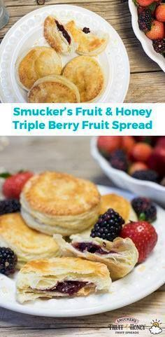 Brunch isnt complet Brunch isnt complete without the perfect...  Brunch isnt complet Brunch isnt complete without the perfect sweet treat. Thanks to Smuckers Fruit & Honey Triple Berry Fruit Spread weve got you covered! Try this delicious triple #berry #turnover #recipe at your next breakfast or #brunch get together and your guests will fall in love! Recipe : http://ift.tt/1hGiZgA And @ItsNutella  http://ift.tt/2v8iUYW