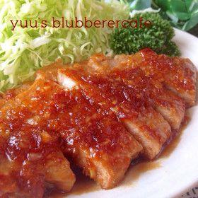 極旨ソースde自慢のトンテキ - Tonteki - Pork Steak