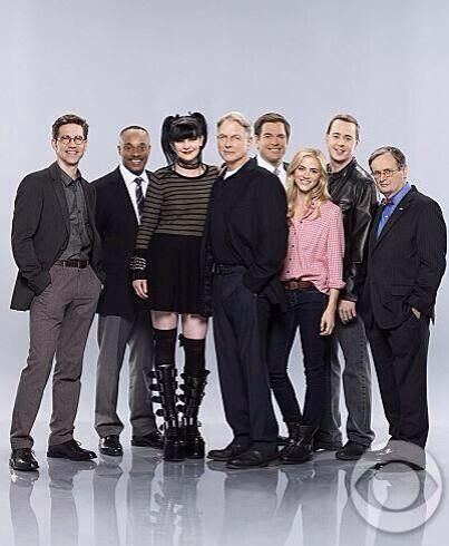Brian Dietzen, Rocky Caroll, Pauley Perrette, Mark Harmon, Michael Weatherly, Emily Wickersham, Sean Murray, David McCallum <3