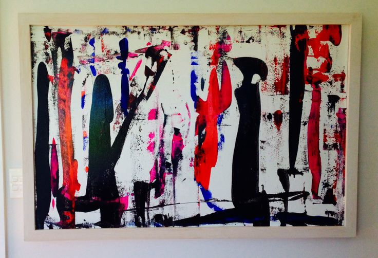 'Painters and Gatherers' mixed media
