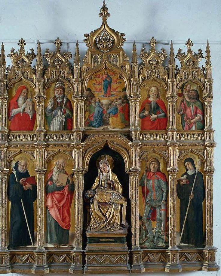 altarpiece 1485  Vivarini Bartolomeo