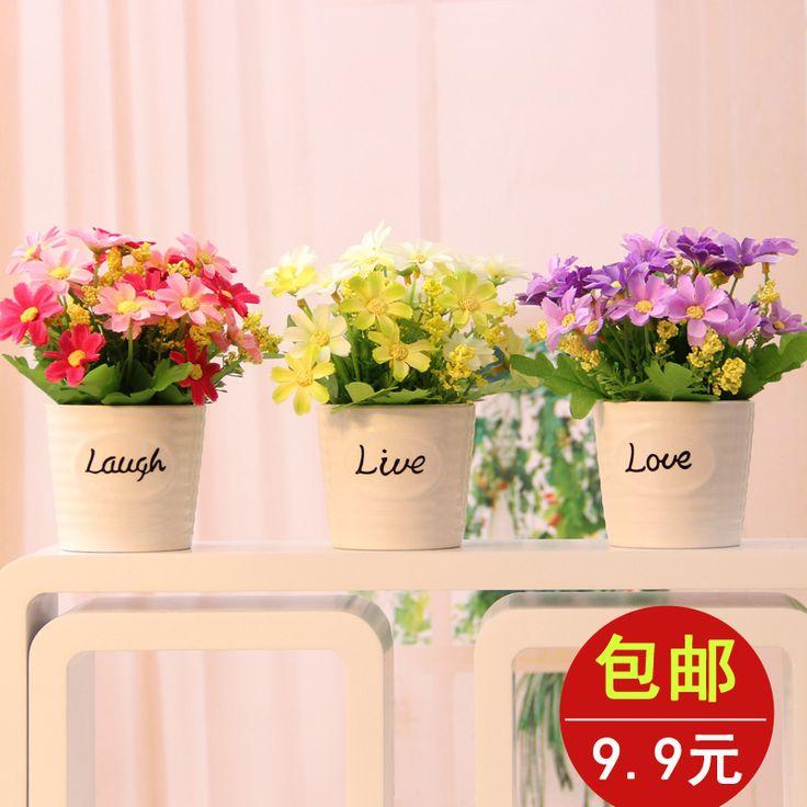 Керамическая ваза цветочный искусственный цветок комплект шелк цветок искусственный цветок diaphragn украшения